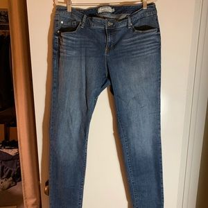 Extra tall Torrid skinny jeans size 16